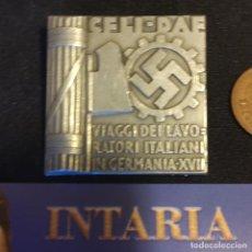 Militaria: DISTINTIVO DE DAF ITALO GERMANO. Lote 286769098