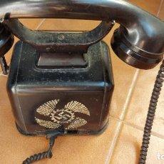 Militaria: TELEFONO DE MANIVELA III REICH. FRENTE DEL TRABAJO ALEMAN. Lote 288023248