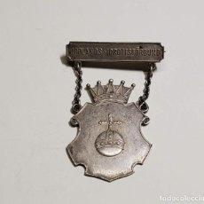 Militaria: MEDALLA DE PLATA AL MERITO CIVIL DE SEGUNDA CLASE DE SUECIA. SEGUNDA GUERRA MUNDIAL. Lote 288562083