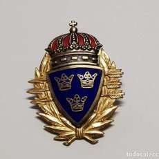 Militaria: INSIGNIA DE PLATA DE SUECIA TIRADOR DE SUBFUSIL DE 1ª CLASE DEL EJERCITO SUECO.2ª GUERRA MUNDIAL. Lote 289259888