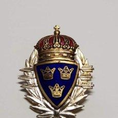 Militaria: INSIGNIA DE PLATA DE SUECIA TIRADOR DE SUBFUSIL DE 2ª CLASE DEL EJERCITO SUECO.2ª GUERRA MUNDIAL. Lote 289261763