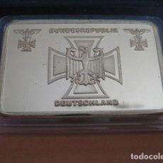 Militaria: LINGOTE ORO LAMINADO. BUNDESREPUBLIK DEUTSCHLAND. ALEMANIA II GUERRA MUNDIAL. Lote 293198403