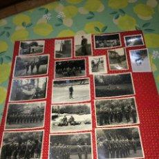 Militaria: LUFTWAFFE ( VEHRMACHT ) - LOTE DE 22 FOTOGRAFIAS ORIGINALES - AÑOS 1939 Y 1940. Lote 294098318