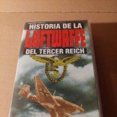 Militaria: VÍDEO VHS . HISTORIA DE LA LUFTWAFFE. EJÉRCITO ALEMÁN. II GUERRA MUNDIAL.. Lote 295511123