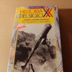Militaria: VÍDEO VHS . LA I GUERRA MUNDIAL.. Lote 295511488