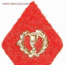 Militaria: ROMBO DE FARMACIA, EN TELA. Lote 5949304