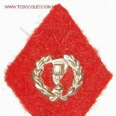 Militaria: ROMBO DE FARMACIA, EN TELA. Lote 8420876