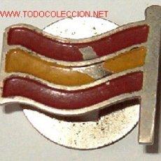 Militaria: BANDERA DE ESPAÑA, OJAL. Lote 9011488