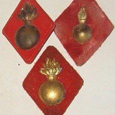Militaria: 3 ROMBOS VARIANTES DE ARTILLERIA. Lote 8697983