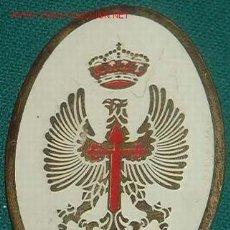 Militaria: PLACA A.G.B.S. ACADEMIA GENERAL BÁSICA DE SUBOFICIALES. Lote 7093427