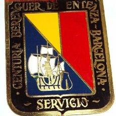 Militaria: CHAPA DE BRAZO BERENGUER D'ENTENZA. Lote 9571763