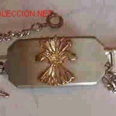 Militaria: PLACA DE PULSERA, ESCUDO. Lote 8841106