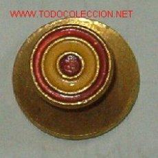 Militaria: INSIGNIA DE OJAL, BANDERA ESPAÑA CIRCULAR. Lote 8979113