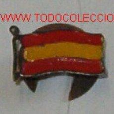 Militaria: INSIGNIA DE OJAL CON BANDERA DE ESPAÑA. Lote 13670257