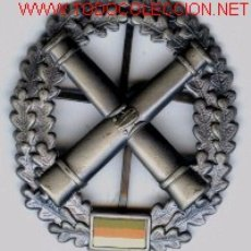 Militaria: INSIGNIA ALEMANA DE BOINA.ARTILLERIA.. Lote 2429267