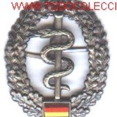 Militaria: INSIGNIA ALEMANA DE BOINA,FARMACIA MILITAR.. Lote 1841880