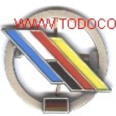 Militaria: INSIGNIA DE GORRA EUROCUERPO FRANCO-ALEMAN.. Lote 1009999