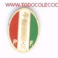 Militaria: INSIGNIA DE SOLDADO FASCISTA ITALIANO.. Lote 12780330