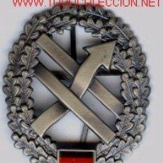 Militaria: INSIGNIA DE BOINA ALEMANA,FERNMELDETRUPPE.O I.. Lote 1940536