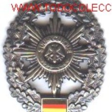 Militaria: INSIGNIA METÁLICA DE BOINA ALEMANA.. Lote 77375189
