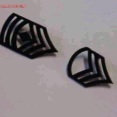 Militaria: PAREJA DE INSIGNIAS DE CUELLO. Lote 3920854
