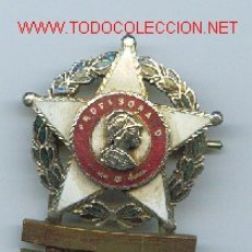 Militaria: DISTINTIVO DE PROFESORADO. EPOCA DE FRANCO. Lote 26425526