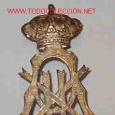 Militaria: INSIGNIA DE CUELLO , ALFONSO XII. . Lote 22657031