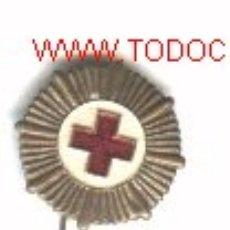 Militaria: INSIGNIA AGUJA CRUZ ROJA ESPAÑOLA.. Lote 218555276