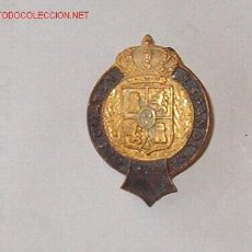 Militaria: DISTINTIVO DE ROSCA, G. SOMATEN ESPAÑOL, ORLA DE BRONCE, CORONA Y ESCUDO DE ORO. Lote 2140902
