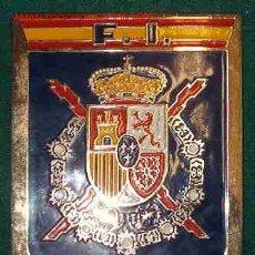 Militaria: PLACA DEL ESCUDO REAL. Lote 2660356