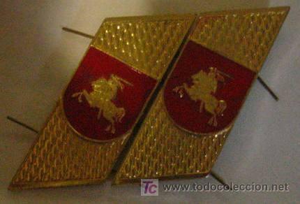 PAREJA DE INSIGNIAS DE CUELLO (Militar - Insignias Militares Extranjeras y Pins)