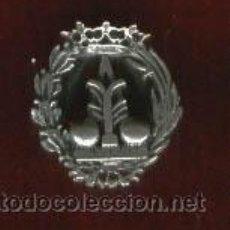 Militaria: INSIGNIA SOLAPA CIENCIAS FÍSICAS EN PLATA DE LEYCORONA ANTIGUA. Lote 25731672