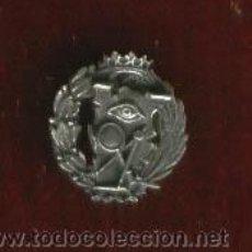 Militaria: INSIGNIA SOLAPA CIENCIAS EXACTAS EN PLATA DE LEY CORONA ANTIGUA. Lote 26194923