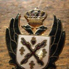 Militaria: INSIGNIA ESMALTADA, CARLISTA, REQUETÉ DE OJAL. Lote 4201322