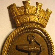 Militaria: CHAPA DE GORRA DE SUBOFICIAL DE LA MARINA, REPÚBLICA. Lote 5369502