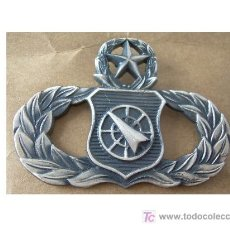 Militaria: INSIGNIA MILITAR DEL USAF (EEUU-USA). Lote 27058793