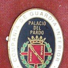Militaria: DISTINTIVO DE TROPA DE LA SECCIÓN DE SEGURIDAD DE LA ESCOLTA DEL GENERALÍSIMO FRANCO. RNOV07.71. Lote 25319050