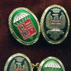 Militaria: ESPAÑA. PUÑOS DE CAMISA O GEMELOS DE LA BRIGADA PARACAIDISTA. BRIPAC. 3ª BANDERA . Lote 33439741