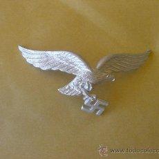 Militaria: INSIGNIA GORRO LUFTWAFFE ORIGINAL STANDARD ORIGINAL CAP LUFTWAFFE . Lote 27506003
