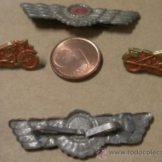 Militaria: 2 ALAS Y 2 MOTOS REPUBLICANAS. REPÚBLICA. Lote 9287062