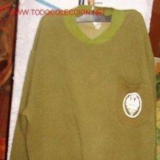 Militaria: SUDADERA BRIGADA PARACAIDISTA CON EMBLEMA.. Lote 8056518