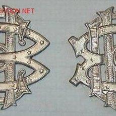Militaria: PAREJA DE INSIGNIAS DE CUELLO.. Lote 21132958