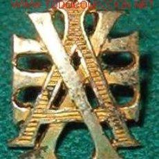 Militaria: INSIGNIA DE ALFONSO XIII.. Lote 21748079