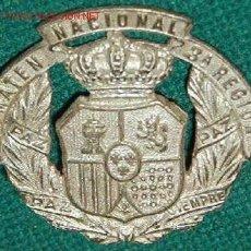 Militaria: INSIGNIA DE SOMATÉN NACIONAL 3ª REGIÓN.. Lote 8677690