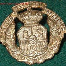 Militaria: INSIGNIA DE SOMATÉN NACIONAL 3ª REGIÓN.. Lote 1526295