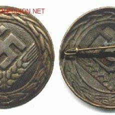 Militaria: BROCHE RAD (ALEMANIA 1933-1945) - ORIGINAL EPOCA III REICH. Lote 26695306