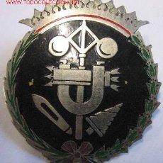 Militaria: DISTINTIVO DE PECHO DE INGENIEROS INDUSTRIALES, DE 3,5 CMS.. Lote 17602563