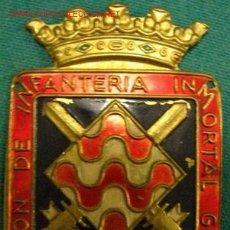 Militaria: EMBLEMA / CHAPA DE BRAZO DIVISIÓN DE INFANTERÍA INMORTAL GERONA Nº 41. Lote 1933180