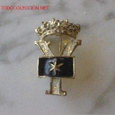 Militaria: INSIGNIA ALFERECES PROVISIONALES STANDARD PROVISIONAL WIDOWS ALFERECES. Lote 27526519