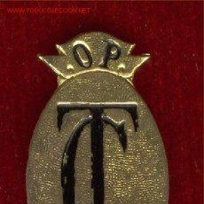 Militaria: LOTE18 INSIGNIA T.C. MED.5 CM. PROX. CON PATITAS. Lote 22890427